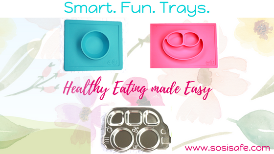 How to Serve Meals your Little One(s)will Actually Eat (Hint: include fun trays and plates)!