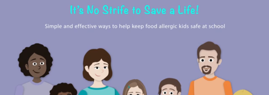 Food allergy kids at school